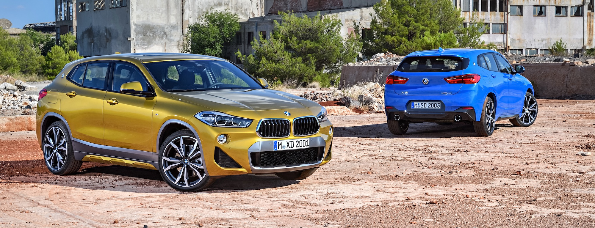 2018 BMW X2: The Sporty Subcompact SUV With The BMW Touch